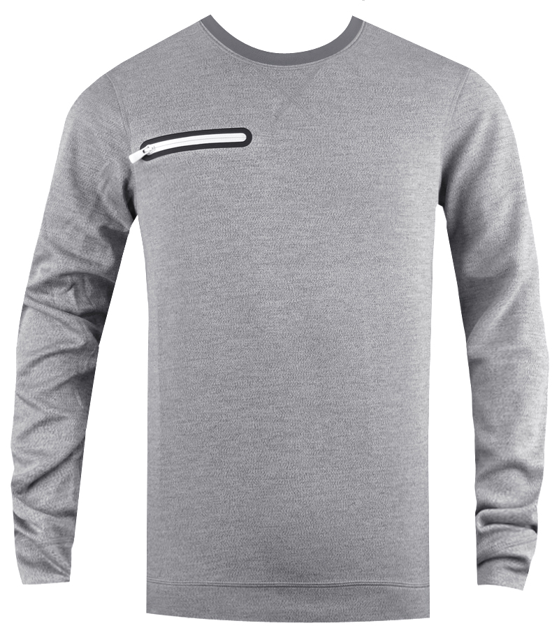 NIKE SPORT LS CREW ARMORY COOL GREY - AW14 541934-065 CLOSEOUT