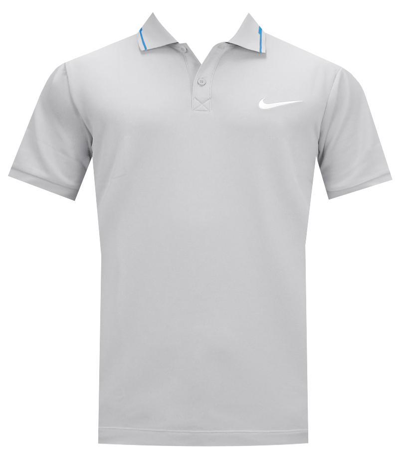 NIKE SPORT SWING MOVEMENT POLO LIGHT MAGNET - AW14 CLOSEOUT 616131-017 CLOSEOUT