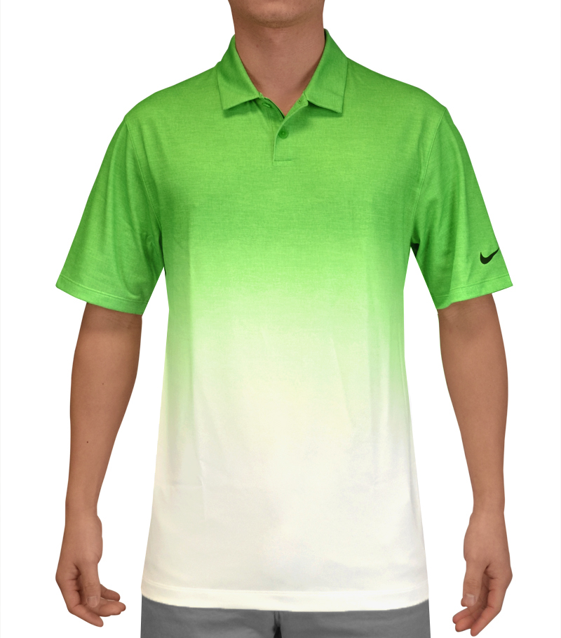 NIKE AFTERBURNER POLO LT GREEN SPARK - SS15 639952-361
