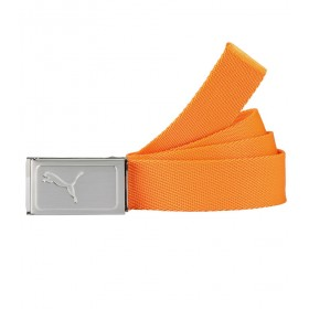 PUMA JUNIOR BOYS WORKS WEB BELT VIBRANT ORANGE - AW16