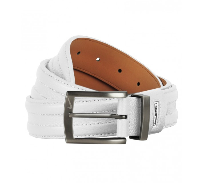 NIKE GOLF BASIC G-FLEX BELT WHITE - SS17
