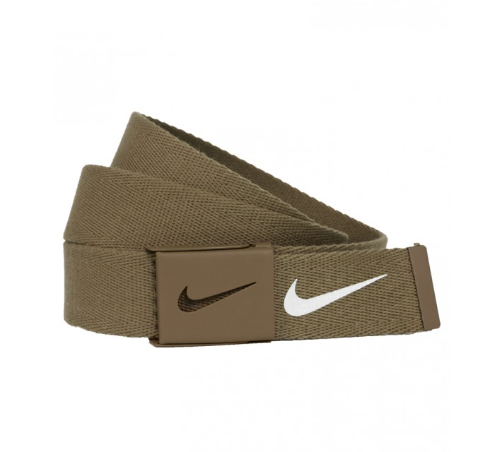 NIKE GOLF ESSENTIALS WEB BELT TAN - SS15 CLOSEOUT