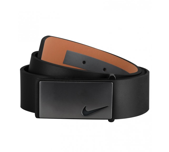 NIKE GOLF TOUR SLEEK MODERN PLAQUE BELT BLACK - AW15 CLOSEOUT