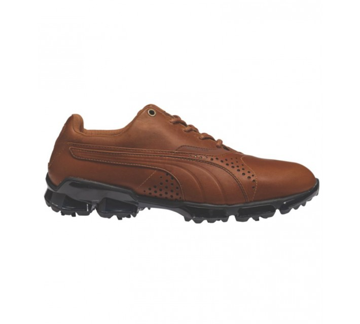 PUMA TITAN TOUR GOLF SHOE BROWN - AW15