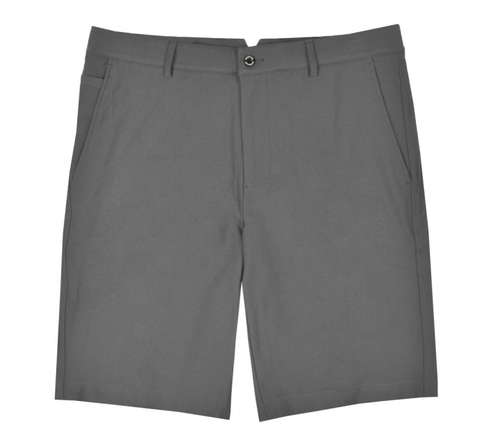 DUNNING 4-WAY STRETCH WOVEN SHORT CHARCOAL - SS17