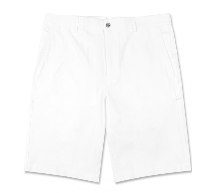 DUNNING 4-WAY STRETCH WOVEN SHORT WHITE - AW16
