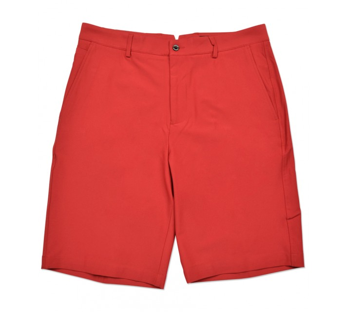 DUNNING 4-WAY STRETCH WOVEN SHORT RED - AW16