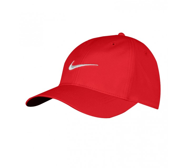 NIKE TECH SWOOSH CAP UNIVERSITY RED - AW15 CLOSEOUT