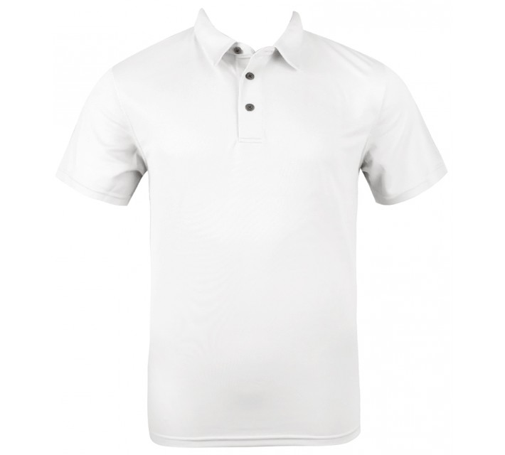 ABACUS YARC GOLF POLO WHITE - AW15