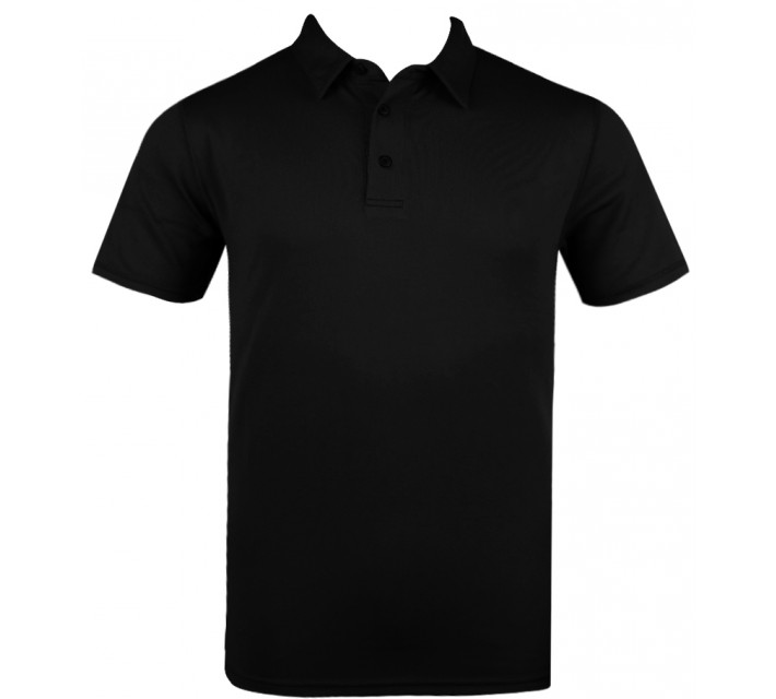 ABACUS YARC GOLF POLO BLACK - AW15