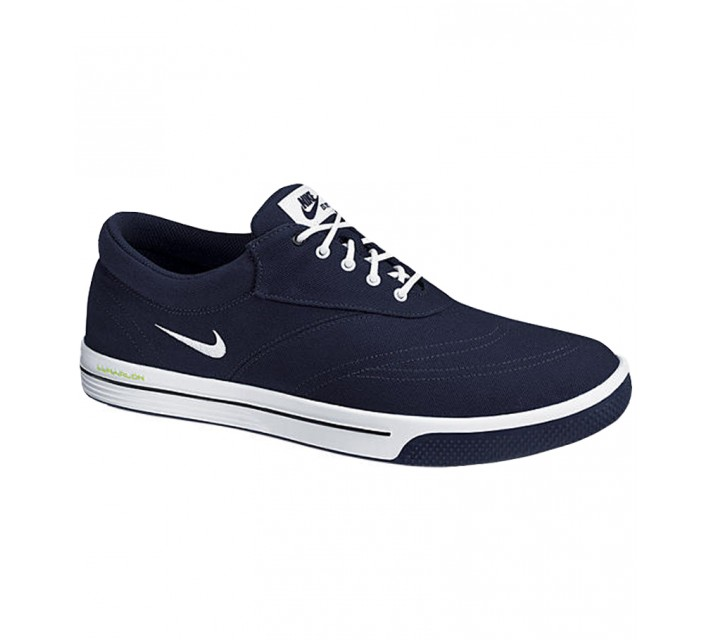 NIKE LUNAR SWINGTIP CANVAS GOLF SHOE BLACKENED BLUE - CORE CLOSEOUT