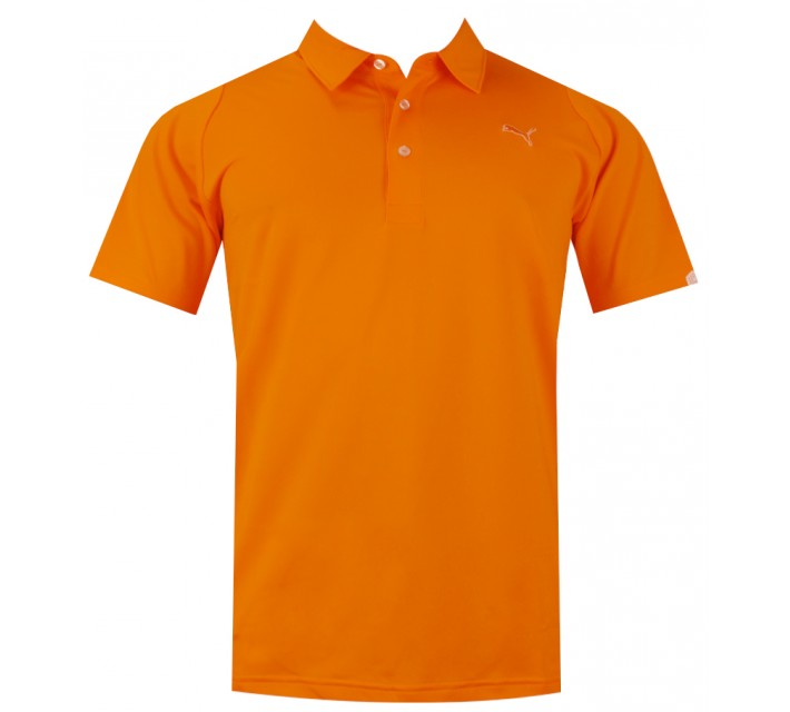 PUMA GOLF DUO-SWING POLO VIBRANT ORANGE - CORE