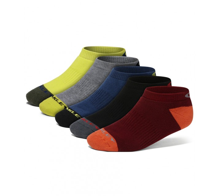 OAKLEY PERFORMANCE BASIC LOW CUT SOCK 5-PACK ASSORTED - AW16