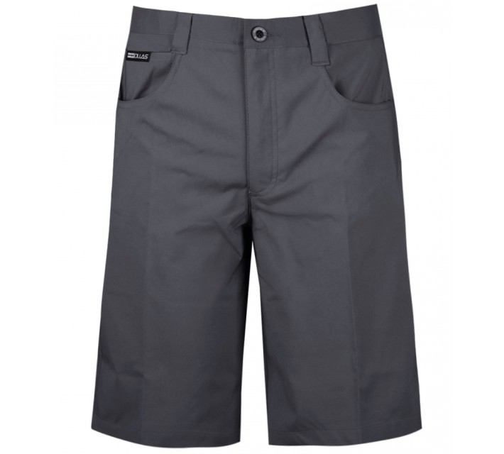 HOLLAS SOLID FIVE POCKET SHORT TURBULENCE - AW15