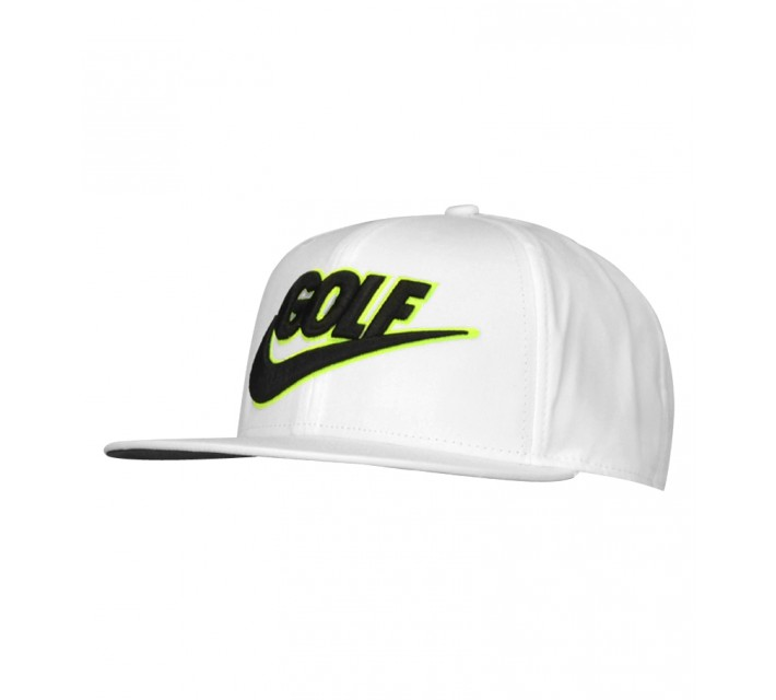 NIKE GOLF TRUE BADGE CAP WHITE - SS15 CLOSEOUT