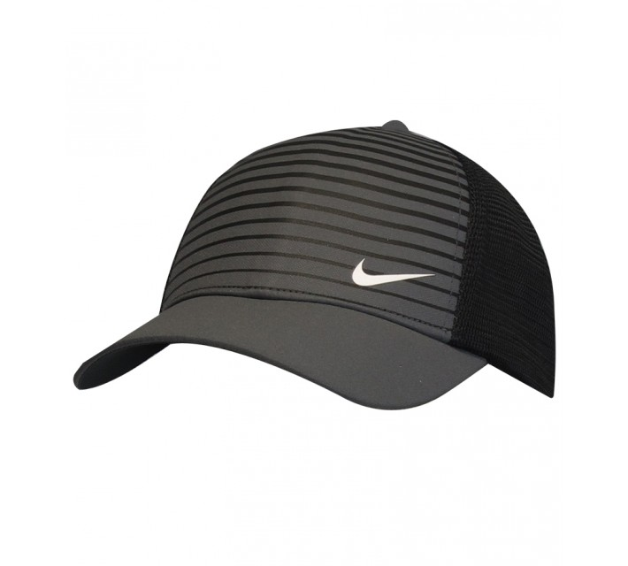 NIKE GOLF LEGACY PRINTED MESH CAP BLACK - SS15 CLOSEOUT