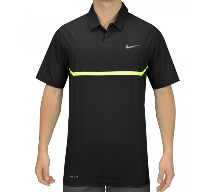 TIGER WOODS ELITE COOL CARBON POLO CLASSIC CHARCOAL - SS15 CLOSEOUT
