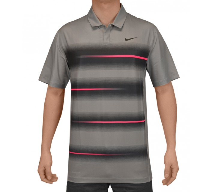 TIGER WOODS VAPOR TRAIL POLO DOVE GREY - SS15 CLOSEOUT