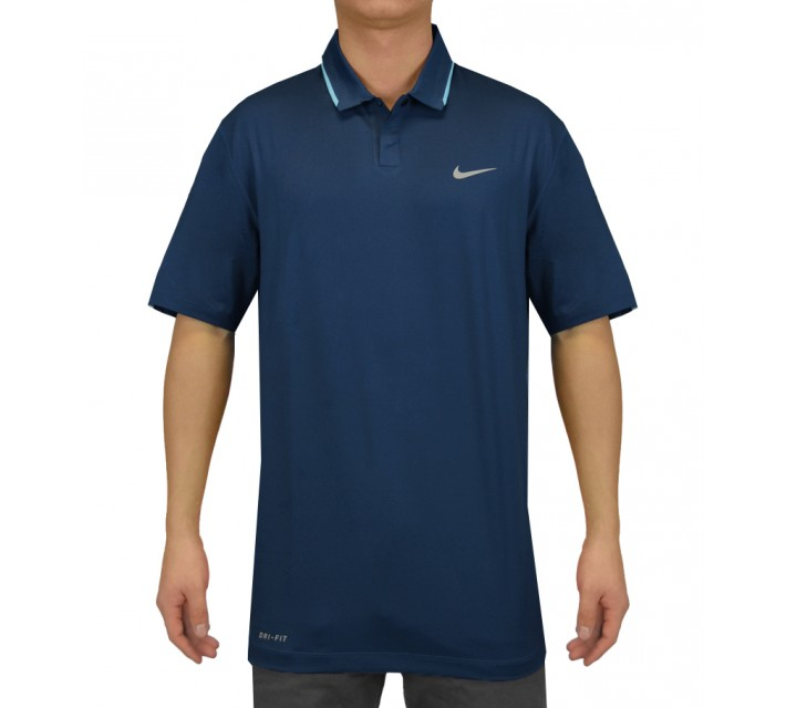 TIGER WOODS GLOW POLO BLUE FORCE - SS15 CLOSEOUT