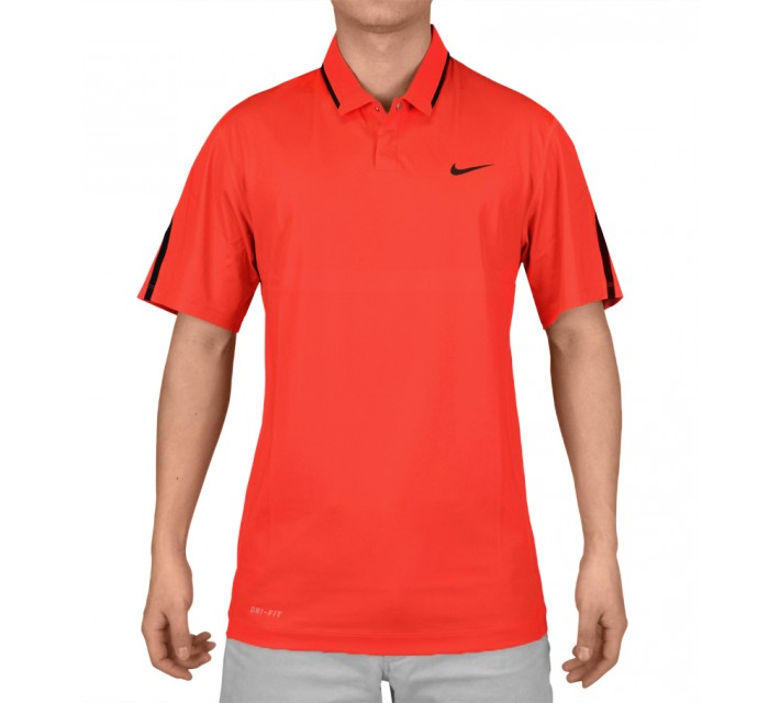 TIGER WOODS BODY MAP POLO DARING RED - SS15 CLOSEOUT