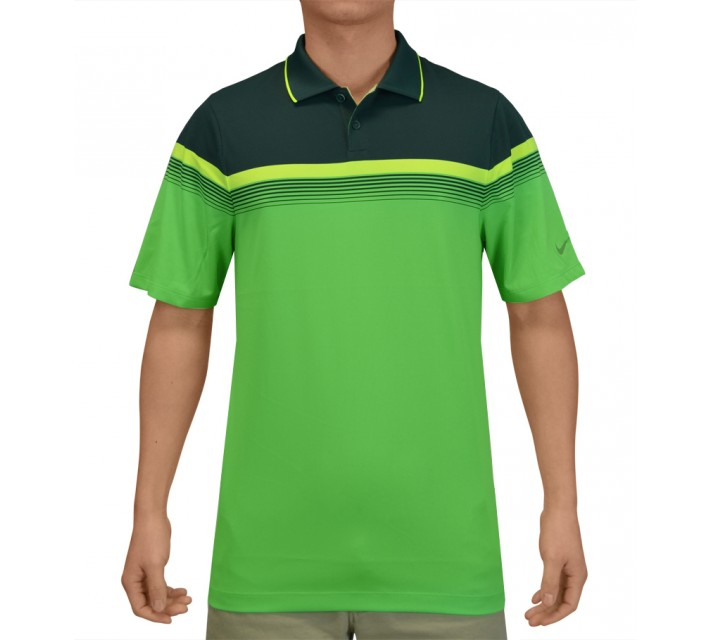 NIKE MAJOR MOMENT POLO POSION GREEN - SS15 CLOSEOUT