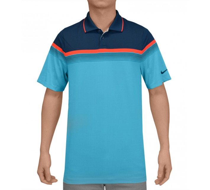 NIKE MAJOR MOMENT POLO CLEARWATER - SS15 CLOSEOUT