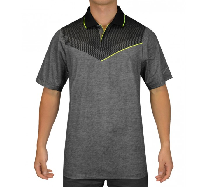 NIKE MAJOR MOMENT LAUNCH POLO BLACK - SS15 CLOSEOUT