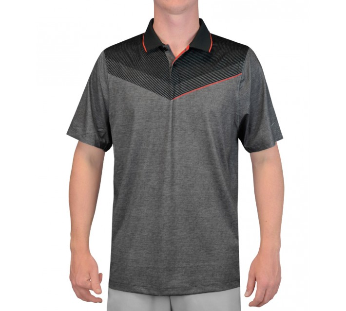 NIKE MAJOR MOMENT LAUNCH POLO BLACK/DARING RED - SS15 CLOSEOUT