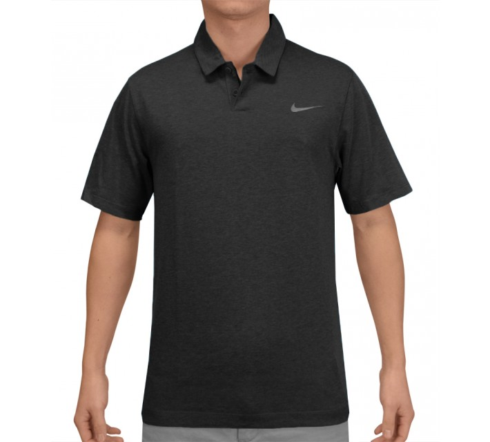 NIKE MAJOR MOMENT SQUADRON POLO BLACK - SS15 CLOSEOUT