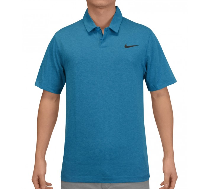 NIKE MAJOR MOMENT SQUADRON POLO LT BLUE LACQUER - SS15 CLOSEOUT