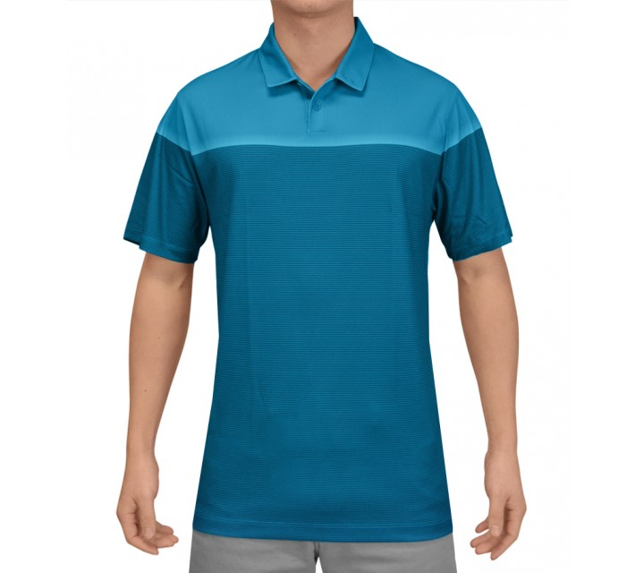 NIKE MAJOR MOMENT LIFT POLO LT BLUE LACQUER - SS15 CLOSEOUT