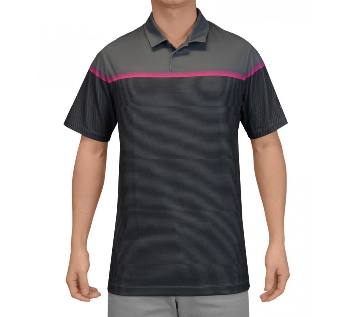 NIKE MAJOR MOMENT LIFT POLO BLUE GRAPHITE - SS15 CLOSEOUT