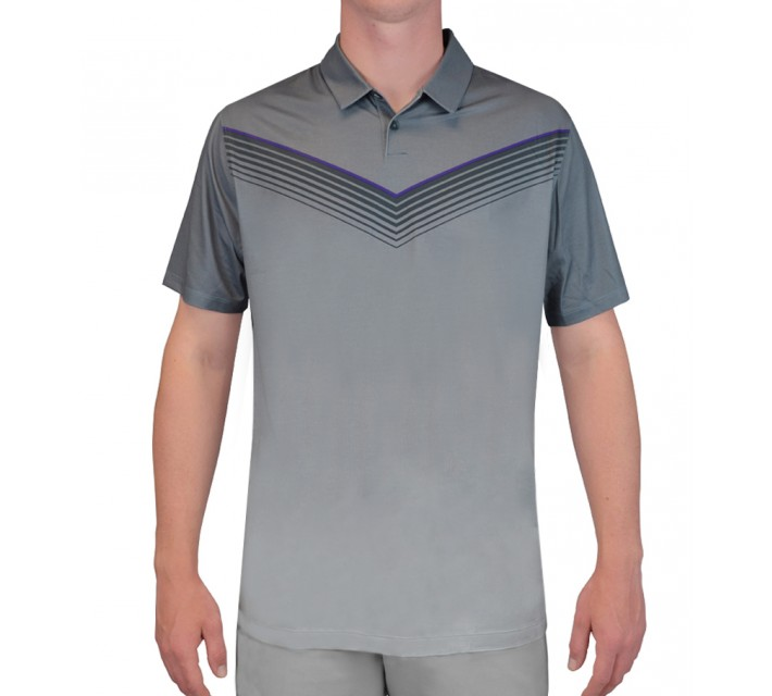 NIKE MAJOR MOMENT SLOW ROLL POLO CLASSIC CHARCOAL - SS15 CLOSEOUT