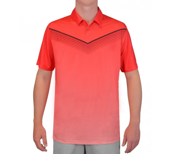NIKE MAJOR MOMENT SLOW ROLL POLO DARING RED - SS15 CLOSEOUT