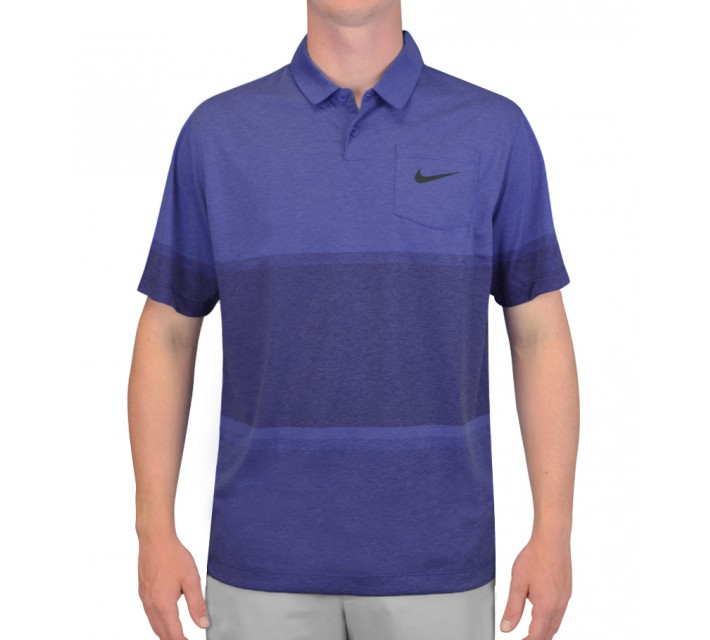 NIKE PATCH POCKET POLO LYON BLUE - SS15 CLOSEOUT