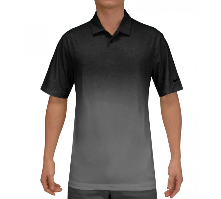 NIKE AFTERBURNER POLO BLACK - SS15 CLOSEOUT