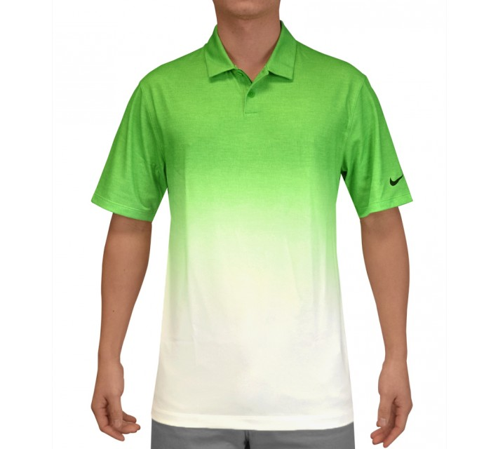 NIKE AFTERBURNER POLO LT GREEN SPARK - SS15