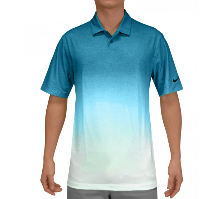 NIKE AFTERBURNER POLO LT BLUE LACQUER - SS15
