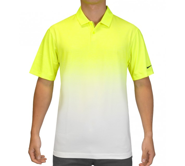 NIKE AFTERBURNER GOLF POLO VOLT - SS15