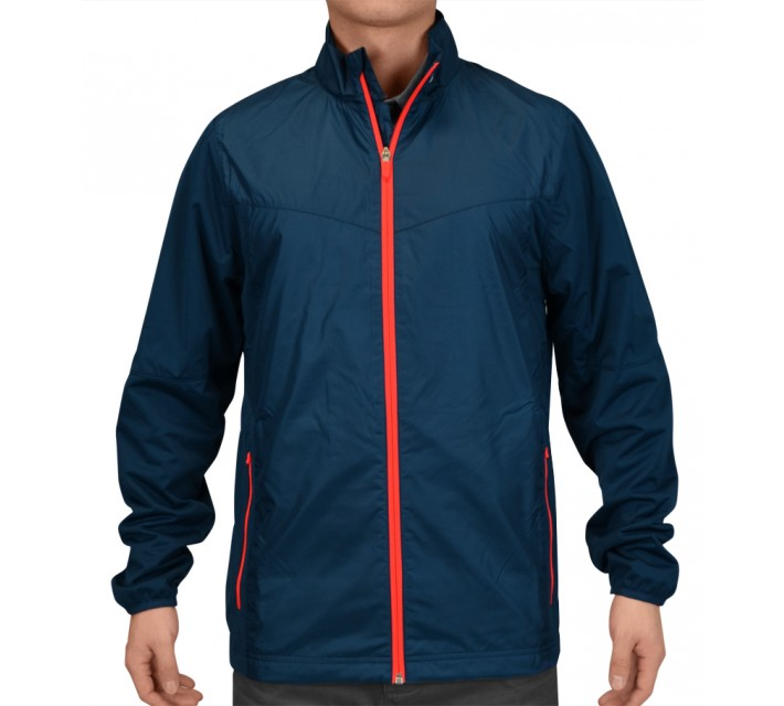 NIKE GOLF SHIELD FULL-ZIP JACKET BLUE FORCE - SS15 CLOSEOUT