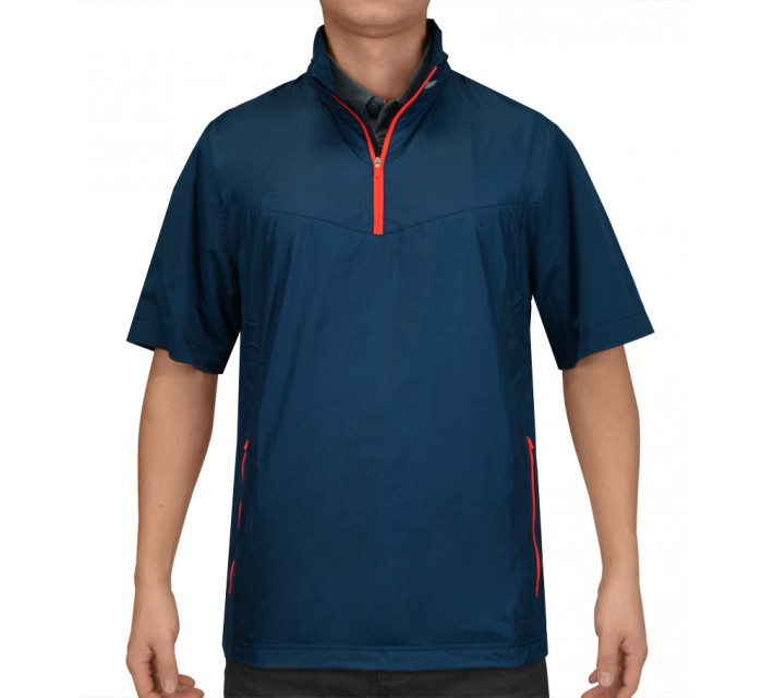 NIKE GOLF SHIELD SS 1/2 ZIP PULLOVER BLUE FORCE - SS15 CLOSEOUT