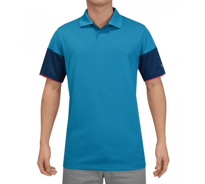 NIKE MAJOR MOMENT COMMANDER POLO LT BLUE LACQUER - SS15 CLOSEOUT