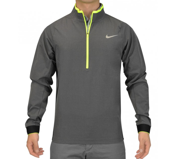 NIKE JETSTREAM PROTECT 1/2 ZIP TOP CLASSIC CHARCOAL - SS15