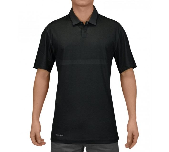 TIGER WOODS BODY MAP POLO CLASSIC CHARCOAL - SS15 CLOSEOUT