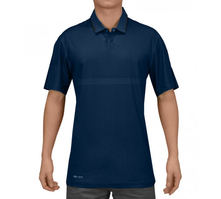 TIGER WOODS BODY MAP POLO BLUE FORCE - SS15 CLOSEOUT