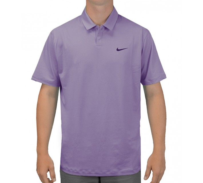 TIGER WOODS CONTROL STRIPE POLO PERSIAN VIOLET - SS15 CLOSEOUT