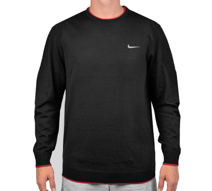 TIGER WOODS ENGINEERED SWEATER 2.0 BLACK - AW15 CLOSEOUT