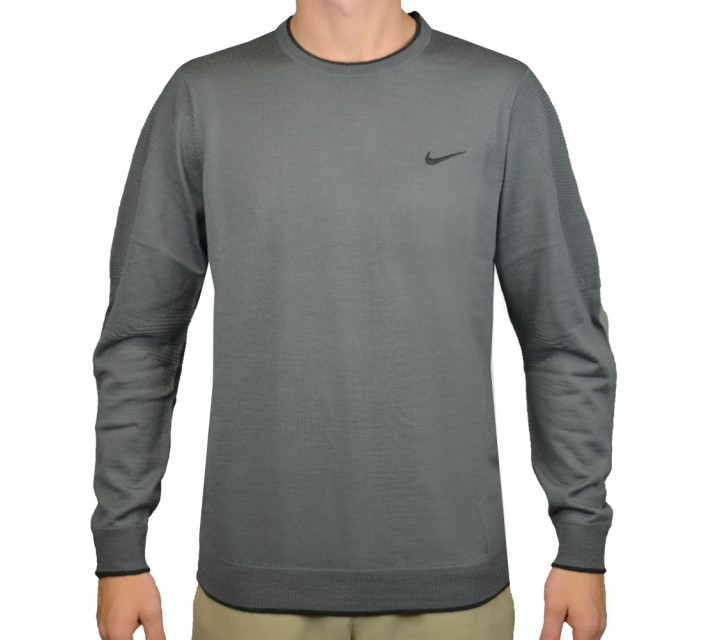 TIGER WOODS ENGINEERED SWEATER 2.0 COOL GREY - AW15 CLOSEOUT