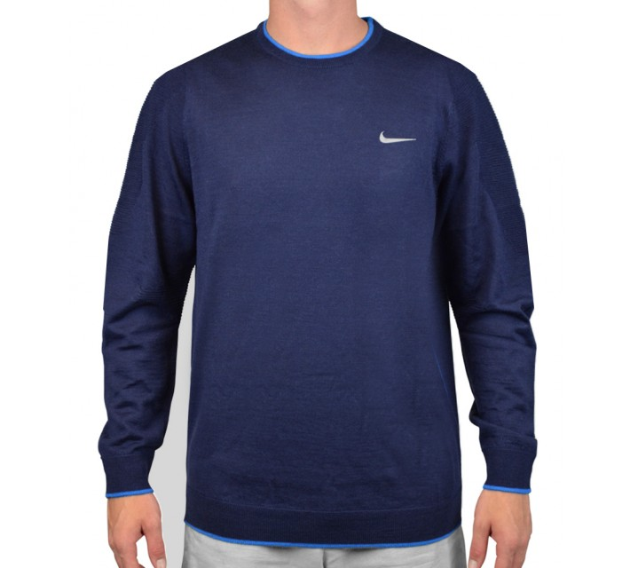 TIGER WOODS ENGINEERED SWEATER 2.0 MIDNIGHT NAVY - AW15 CLOSEOUT