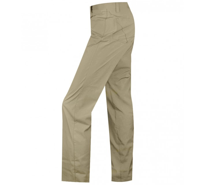 HOLLAS SOLID FIVE POCKET PANT TAN - AW15